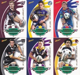 2012 Select One Community NRL Cards