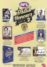 2015 AFL Honours Factory Sealed Box