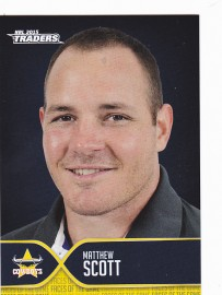 2015 Traders Face of the Game FOTG11 - Matthew Scott - Cowboys