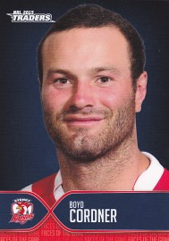 2015 Traders Face of the Game FOTG40 - Boyd Cordner - Roosters