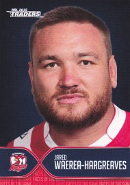 2015 Traders Face of the Game FOTG42 - Jared Waerea-Hargreaves - Roosters
