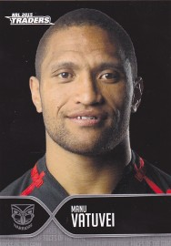 2015 Traders Face of the Game FOTG45 - Manu Vatuvei - Warriors