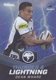 2015 Traders Thunder & Lightning TL20 - Dean Whare - Panthers