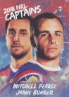 2018 Elite Captains CC08 - Mitchell Pearce & Jamie Buhrer - Knights
