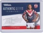 2021 Traders Authentic Signature Silver AS14 - Sitili Tupouniua