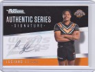 2021 Traders Authentic Signature Silver AS16 - Luciano Leilua
