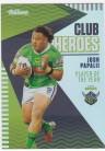 2021 Traders Club Heroes CH03 Raiders - Josh Papalli