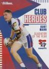2021 Traders Club Heroes CH16 Knights - Kurt Mann
