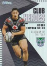 2021 Traders Club Heroes CH30 Warriors - Roger Tuivasa-Sheck