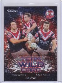 2021 Traders Priority Team Wild Card WCG14 - Roosters #10/45