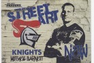 2021 Traders Street Art White SAW08 - Mitchell Barnett
