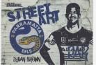 2021 Traders Street Art White SAW10 - Dylan Brown