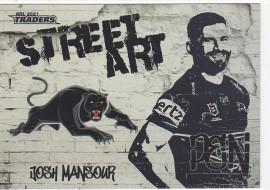 2021 Traders Street Art White SAW11 - Josh Mansour