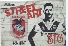 2021 Traders Street Art White SAW13 - Ben Hunt