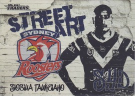 2021 Traders Street Art White SAW14 - Siosula Taukeiaho