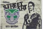 2021 Traders Street Art White SAW15 - Kodi Nikorima