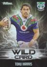 2021 Traders Wild Card WC43 - Tohu Harris