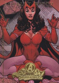 Fleer Avengers A06 - Scarlet Witch