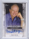 Leaf Pop Century - Fred Dryer Autograph Card
