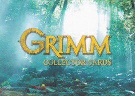 Grimm Season 1 72 Card Base Set