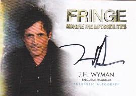 A15 J.H. Wyman Executive Producer Autograph Card