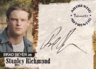 Jericho A06 Autograph Card - Brad Beyer as Stanley Richmond