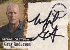 Jericho A05 Autograph Card - Michael Gaston as Gray Anderson
