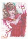 Women of Marvel 2 Artifex Card O6 - Scarlet Witch