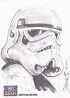 Star Wars Galaxy 7 Sketch - Storm Trooper by Jason Davies