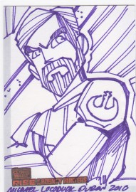 Star Wars Rise of the Bounty Hunter Artist Sketch - Kenobi