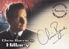 Tomb Raider Autograph Card A04 - Chris Barrie