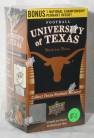 NFL University of Texas Trading Cards Sealed Box