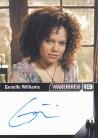 Warehouse 13 Season 4 - Genelle Williams as Leena Autograph Card