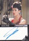 Warehouse 13 Season 4 Autograph Card - Joanne Kelly as Myka Bering