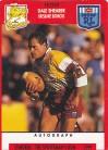 1991 Stimorol 019 Dale Shearer Brisbane Broncos