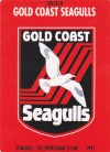 1991 Stimorol 139 Gold Coast Seagulls Logo Card