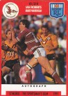 1991 Stimorol 041 Ian Roberts Manly-Warringah Sea Eagles
