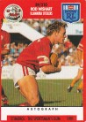 1991 Stimorol 089 Rod Wishart Illawarra Steelers