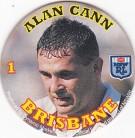 1994 Coca-Cola QLD Pog #01 - Alan Cann