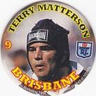 1994 Coca-Cola QLD Pog #09 - Terry Matterson