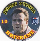 1994 Coca-Cola QLD Pog #10 - Julian O'Neill
