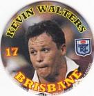 1994 Coca-Cola QLD Pog #17 - Kevin Walters