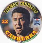 1994 Coca-Cola QLD Pog #22 - Ricky Stuart