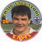 1994 Coca-Cola QLD Pog #26 - Craig Salvatori