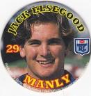 1994 Coca-Cola QLD Pog #29 - Jack Elsegood