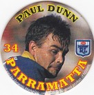 1994 Coca-Cola QLD Pog #34 - Paul Dunn