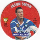 1995 Coca-Cola Footy Face Pogs #08 - Jason Smith