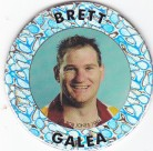 1995 Crown & Andrews Broncos Collector Pog (Silver) - Brett Galea
