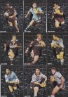 1995 Dynamic Series 2 Origin Men of Steel 9 card set