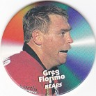 1997 Fatty's Turn it Up Pog #24 - Greg Florimo
